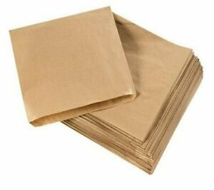 Brown Kraft Paper Strung Bags - FOOD USE BAGS 100-1000x ALL SIZES