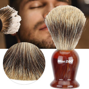 Pure Badgers Hair Removal Beard Shaving Brush For Mens Shave Cosmetic Tools Home