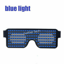 Flashing Party Light up Glasses Led Animation Nightclubs Rechargeable Sunglasses