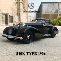 1:18 KK-Scale Mercedes Benz 540K Type 1936 Vintage Collectible Diecast Car Model