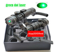 Hot 532nm Green Dot Laser Sight 20mm rail Daul Mount Remote Switch for Rifle