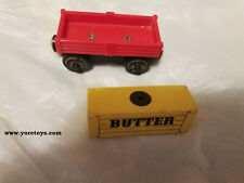 Learning Curve Thomas Wooden Railway Sodor Cookie Cargo Pack Butter Car