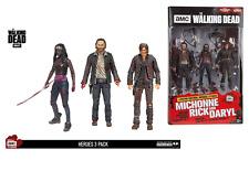 "McFarlane - The Walking Dead 5"" Figure Hero 3 Pack - Daryl, Rick & Michonne"