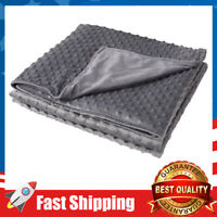 Duvet Cover Removable for Weighted Blankets 8 Ties 36'' x 48'' - Soft Minky Dot