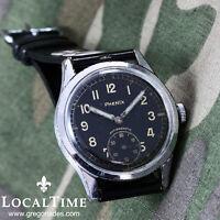 1950's PHENIX Deutsches Heer Vintage Military Watch AS Cal. 1130 Wehrmachtswerk