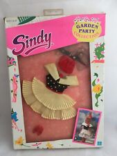 Vintage Sindy Prototype Sample Hasbro GARDEN PARTY COLLECTION DRESS HAT & SHOES