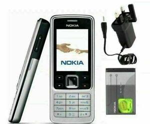 ⭐ NEW Nokia 6300 Silver (Unlocked) Camera Bluetooth Mobile Phone Classic Nokia