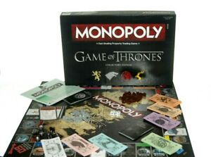 Official Game of Thrones Monopoly Collector's Edition Family Board Games
