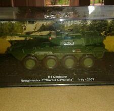 Miniature IXO Altaya Char combat  B1 CENTAURO IRAQ 2003