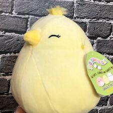 """NWT Kellytoy Squishmallows 8"""" Estelle Yellow Chick Peep Easter 2020"""