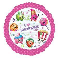 """Shopkins 18 """" Standard Rotondo Palloncino rivestito Bambini Festa di compleanno"""