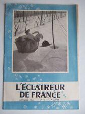 L'ECLAIREUR DE FRANCE - N° 8 DECEMBRE 1946. SCOUTISME