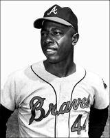 Hank Aaron Photo 8X10 - Atlanta Braves 1966 - Buy Any 2 Get 1 Free