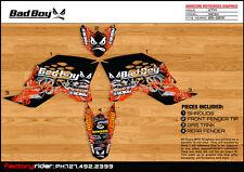 Bad Boy Motocross Graphic KTM SX 50 2009-2012 Dirt Bike Graphics Decal Deco