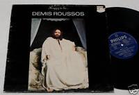 DEMIS ROUSSOS:LP-HAPPY TO BE-ORIIGNAL ITALY 1976