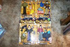 BEATLES YELLOW SUB FIGURINES BY MCPHARLANE TOYS