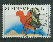 Suriname Briefmarken 1986 Vögel Mi 1165