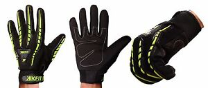 Leather Wheelchair Gloves Full Finger High Visibility Mobility Bus Driving Biker