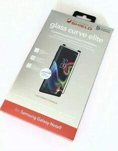 Zagg InvisibleSHIELD Curve Glass Elite Screen Protection for Galaxy Note 9 Black