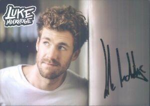 Handsignierte Autogrammkarte von Luke Mockridge - COMEDIAN