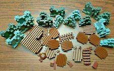 Lot Of Vintage Legos Fort and Mountain Pieces