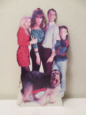 Vtg Married with Children Al Bundy Family TV Series Cardboard Cutout Sign 1987