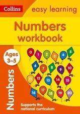 Numbers Workbook Ages 3-5: New Edition (Collins Easy Learning Preschool) by Collins Easy Learning (Paperback, 2015)
