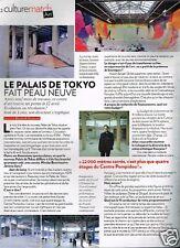 Coupure de Presse Clipping 2012 (1 page) Paris Le Palais de Tokyo