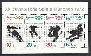 BRD 1971 Mi. Nr. 684-687 in Block 6 Postfrisch LUXUS!!!