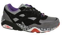 Puma R698 X STUCK UP X ALIFE Grey Black Mens Trainers Lace Up 358867 01 D36