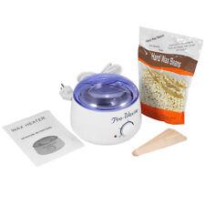 Hard Wax Beans Machine + 5 Haarentfernung Sticks + 300g Wachs Bohnen Set