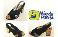 Wanda Panda Leather heel sandals Wanda Panda Shoes Made in Spain Laterina