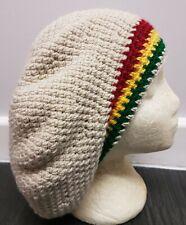Handmade Crochet RASTA TAM Hat Taille Moyenne
