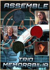 2012 Upper Deck Avengers Assemble Costume Card AT-3 - Loki Thor Jane