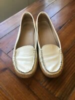 stuart weitzman 7.5 womens driving moccasin loafer
