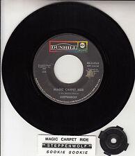 "STEPPENWOLF Magic Carpet Ride  7"" 45 rpm vinyl record + juke box title strip"