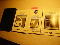 1997 Ford Escort Owners Manual Very Good Free Shipping 8890-24