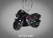 Top Gun Maverick's Kawasaki Ninja GPZ 900R Motorcycle Christmas Ornament 1/64