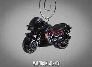 Top Gun Maverick's Kawasaki Ninja GPZ 900R Motorcycle Christmas Ornament 1/64