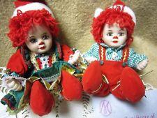 "Marie Osmond Tiny Tots Collection ""Jingles & Belle"" Dolls w/Box &Coa"