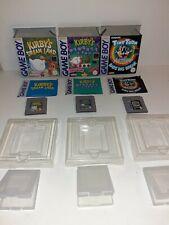 Zwei x Kirby und ein Tiny Toon Spiel für Game Boy
