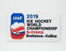 Embroidered Patch Badge IIHF 2019 Slovakia Ice Hockey World Championship