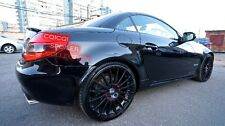 Painted MERCEDES BENZ 04-10 R171 SLK AMG type trunk spoiler color-040 Black ◎