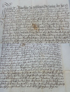 Schuldbrief Reign Heidegg 1771: Felix Winkler (Gelfingen) Leiht 90 Gulden
