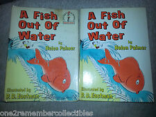 A FISH OUT OF WATER 1961 Childrens Book DR. SEUSS 1st Edition VINTAGE Beginner
