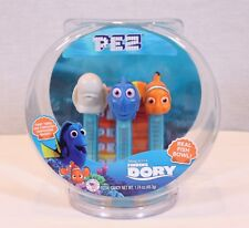 Pez Collectible Disney'S Pixar Finding Dory Fish Bowl W/ 3 Candy Dispensers New