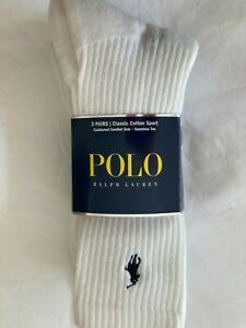 Mens Polo Ralph Lauren performance sport socks 10-13
