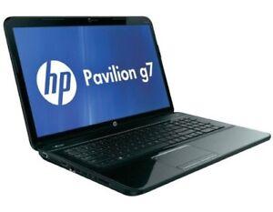 "17.3"" HP Pavilion G7-2240US Intel Core i3 2nd Gen 2370M 6GB DDR3 Memory Win 8"