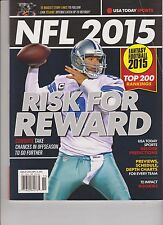 USA TODAY SPORTS MAGAZINE PRESENTS, NFL FOOTBALL 2015.