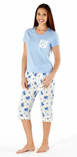 Cotton Blend Pajama Sets Floral Sleepwear for Women